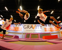 GraVity bouncing into Bluewater